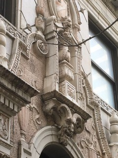 Gothic and Classical facades
