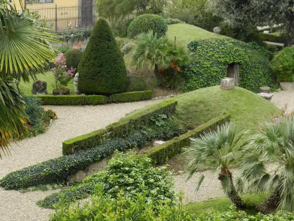 Florence Etruscan Tombs Museum Garden