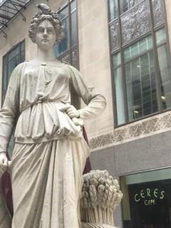 Board of Trade Statues