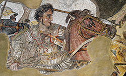 Alexander the Great Mosaic, Naples Archaeological Museum