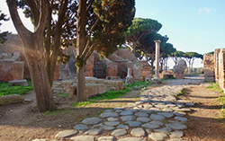 Ostia Antica main road