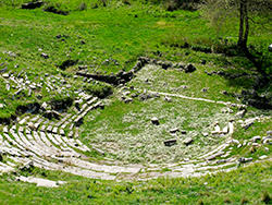 Ancient theatre of Gitana