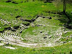 Ancient theatre of Gitana