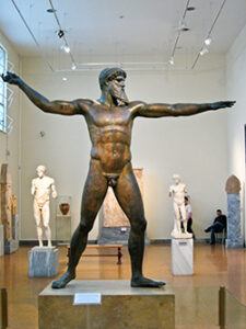 Bronze Poseidon-Zeus