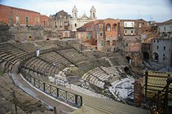 Greco Romano theatre, Catania