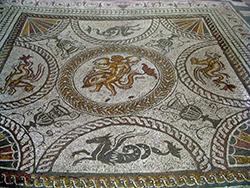 Dolphin Mosaic - Fishbourne Roman Palace