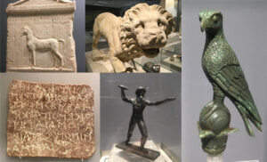 Exhibits from Ioannina Archaeological Museum