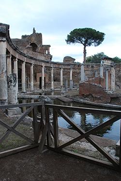 Hadrian's villa near Tivoli