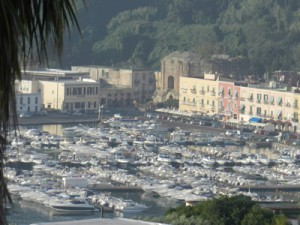 Hotel views of Baia Harbour and Thermae