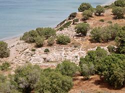 Komos Archaeological Site and Beach