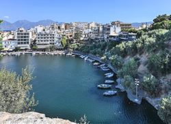 Lake Voulismeni, Aghios Nikolaos, Crete