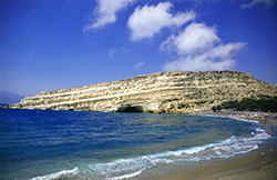 Matala Beach and Rock Tombs