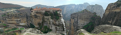 Monastery Varlaam, Meteora, Greece