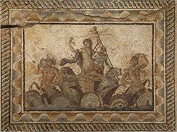 Dionysus Mosaic, Dion