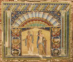 Neptune Amphitrite Mosaic Herculaneum