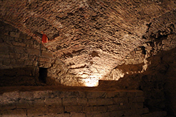 Palazzo Vecchio, subterranean Roman Theatre