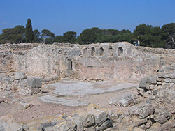 Paleochristian Basilica Empuries