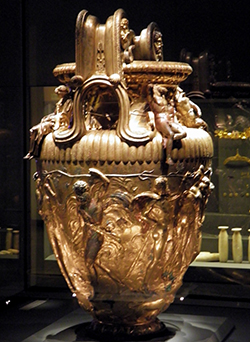 The Derveni Krater, Thessaloniki Archaeological Museum