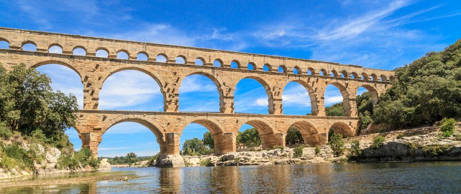 Pont du Gard Aqueduct, Avignon, Provence
