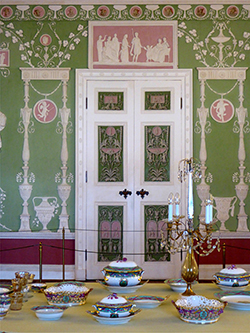 Pouchkine - Palais Catherine Green Dining Room