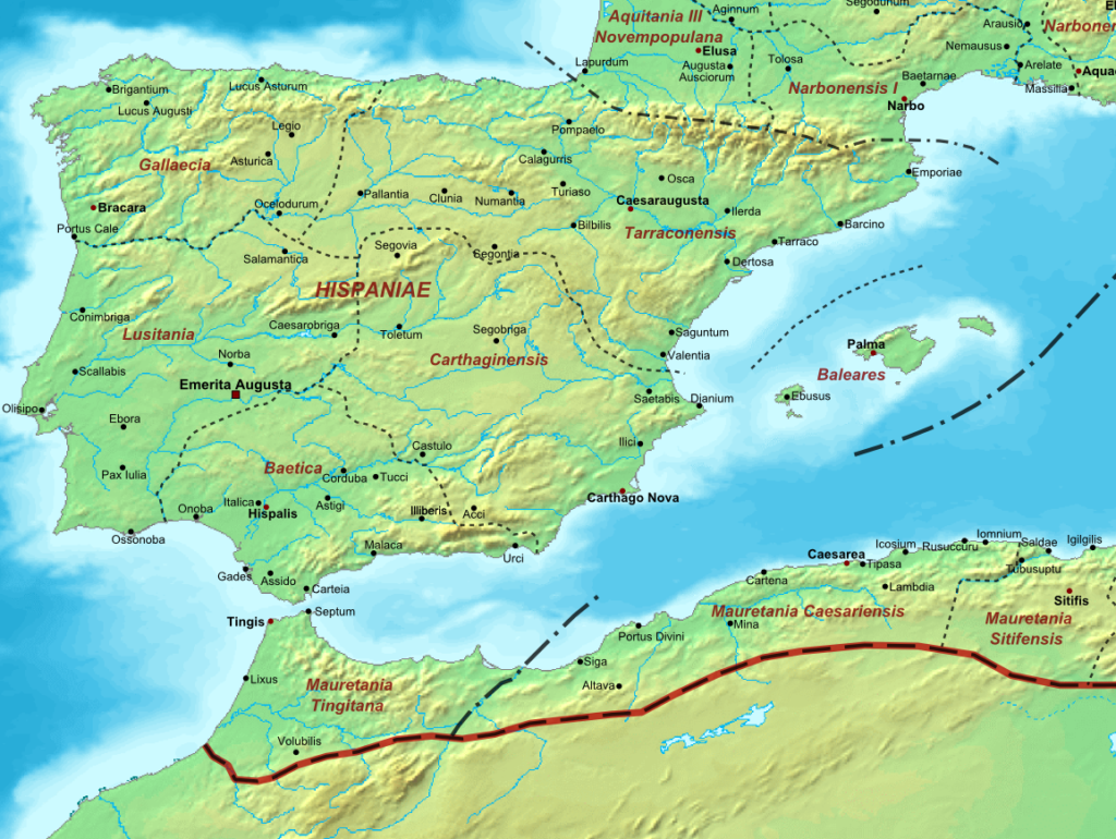 Roman Spain AD400