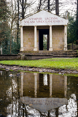 Roman Temple at Vindolanda