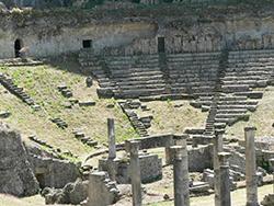 Roman theatre, Volterra