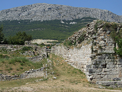 Salona - Roman wall