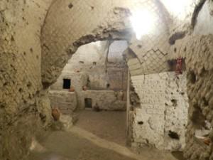 Subterranean remains below San Lorenzo Maggiore