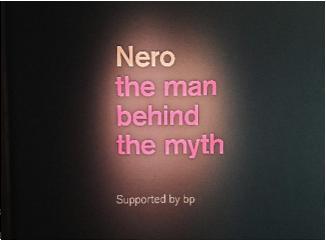 The exhibition header