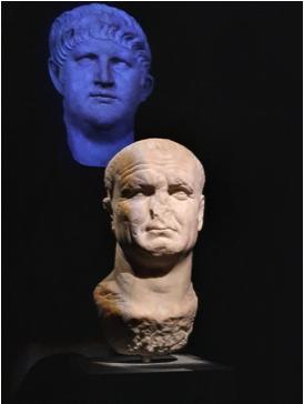 The re-carved portrait of Vespasian