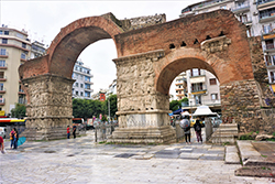 Tiumphal Arch of Galerius, Thessaloniki by Joy of Museums