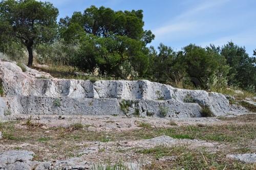 Climbing Philopappos