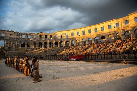 Gladiator show