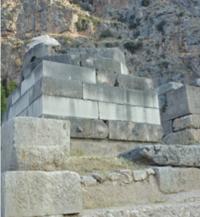 stand for Delphic Serpent Column in Delphi