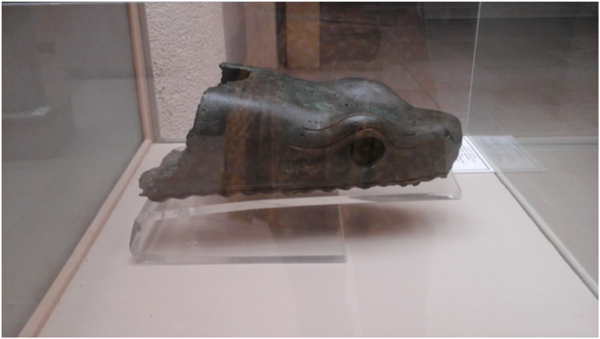Head of the Delphic Serpent Column