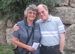 Sarah and John Thomason