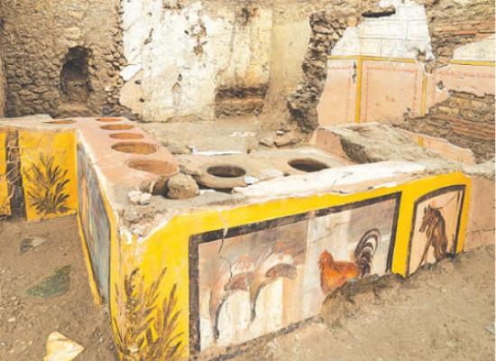 Pompeii: Thermopolium uncovered…