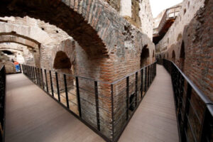 Colosseum tunnels